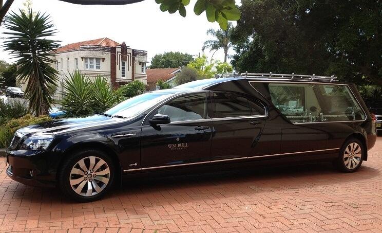 fancy funeral hearse