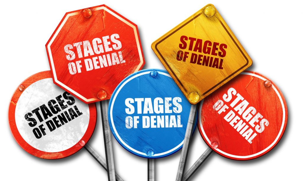 stages of denial