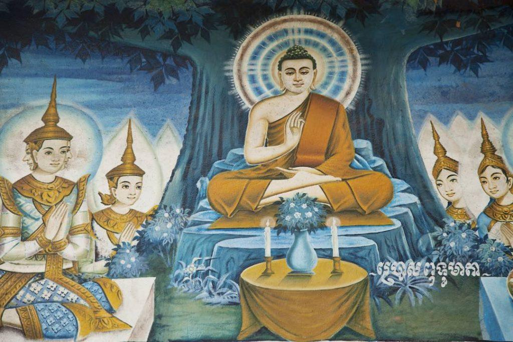 Mahayana and Theravada Buddhism