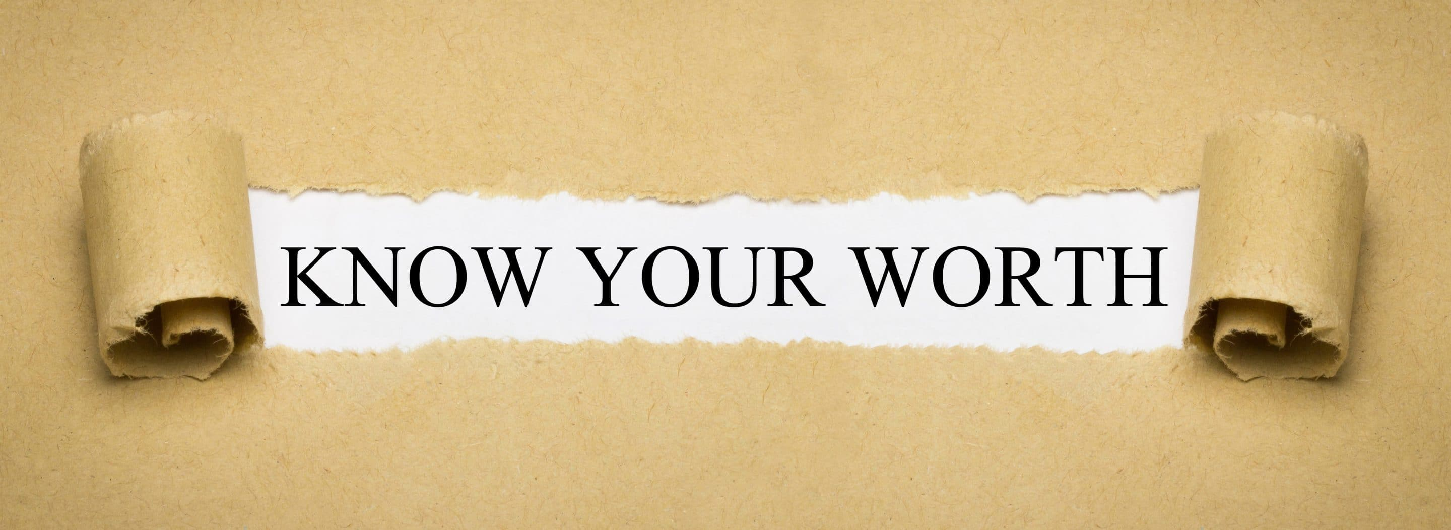 THE VALUE OF WORTH, SELF-WORTH IN LIVING YOUR LEGACY