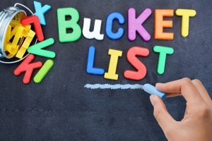 Writing a Bucket List/Mission Statement