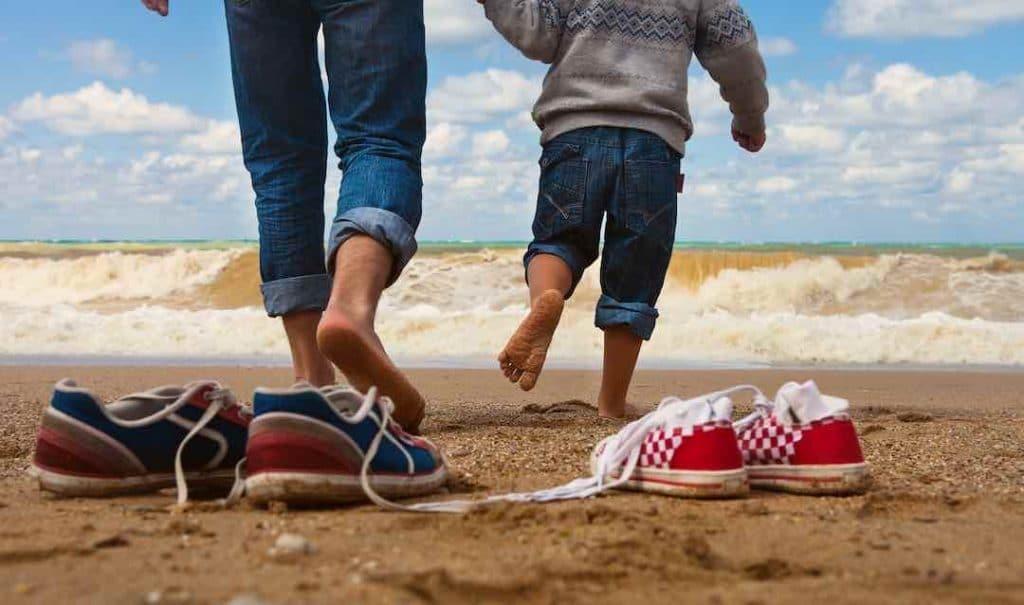 walking barefoot - grounding
